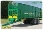 Машина для внесения твердых органических удобрений МТУ-20