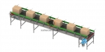 фото Конвейер ленточный роликовый горизонтальный KLRG